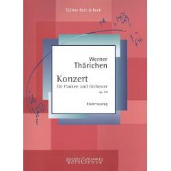 Thärichen, Werner: Konzert op.34 für Pauken und Orchester : für Pauken und Klavier Stimmen