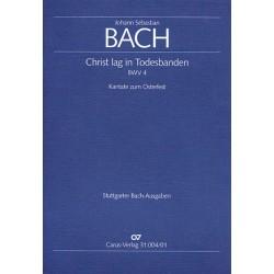 Bach, Johann Sebastian: Christ lag in Todesbanden Kantate Nr.4 BWV4 Partitur (dt/en)