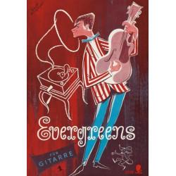 Evergreens Band 1 : für Gitarre Alex, Joe, ed