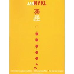 Nykl, Jan: 35 Etüden : für Sopranblockflöte