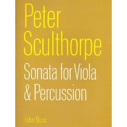 Sculthorpe, Peter: Sonata for viola and percussion (1960)