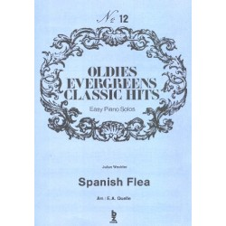 Wechter, Julius: Spanish Flea : Einzelausgabe für Klavier (leicht)