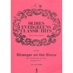 Bilk, Acker: Stranger on the shore : Einzelausgabe für Klavier