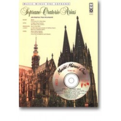 Music Minus One Soprano (+CD) : Soprano oratorio arias