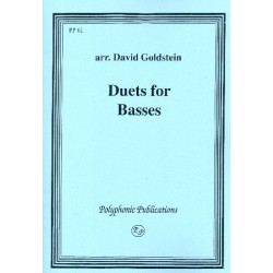Duets for Basses : score