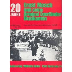 Mosch, Ernst: 20 Jahre Ernst Mosch und seine Original Egerländer Musikanten Band 8 : für Klavier (Akkordeon)