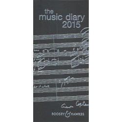 The Music Diary 2015 black