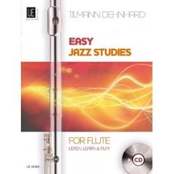 Dehnhard, Tilmann: Easy Jazz Studies (+CD) : for flute