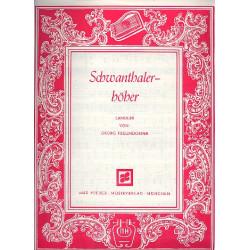 Freundorfer, Georg: Schwanthalerhöher : Ländler für 2 Zithern Zither 1
