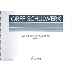 Keetman, Gunild: Spielbuch im pentatonischen Raum Band 2 : für Xylophon (2 Spieler)