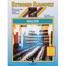 Walzer : 16 neue Arrangements für Keyboard