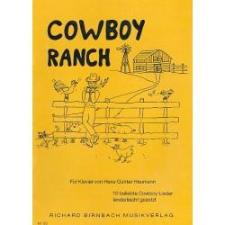 Heumann, Hans-Günter: Cowboy Ranch: 10 beliebte Cowboy-Lieder kinderleicht gesetzt für Klavier