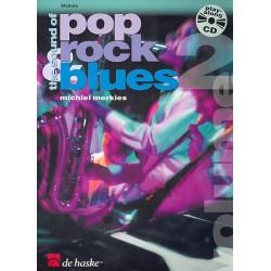 Merkies, Michiel: The Sound of Pop Rock Blues Band 2 (+CD) : für Mallets