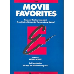 Movie Favorites : for band tuba