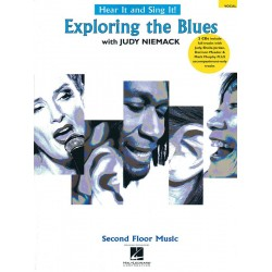 Niemack, Judy: Hear it and sing it - Exploring the Blues (+2 CD's) : for voice