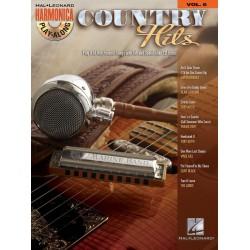 Country Hits (+CD) : for diatonic harmonica harmonica playalong vol.6