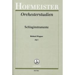 Wagner, Richard: Orchesterstudien f├╝r Schlaginstrumente Band 1