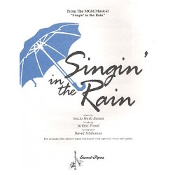 Brown, Nacio Herb: Singin in the Rain : for SSA (SST) recorder trio (voice+guitar ad lib)