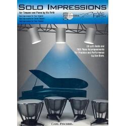 Firth, Vic: Solo Impressions (+CD) : for timpani and piano