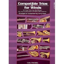 Clark, Larry: Compatible Trios for Winds : for horn in F score