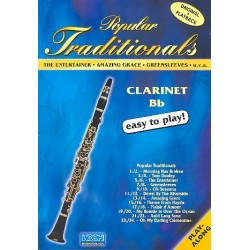 Popular Traditionals (+CD) : for clarinet in bb