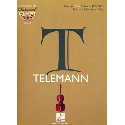 Telemann, Georg Philipp: Konzert G-Dur TWV51:G9 für Viola und Orchester (+CD) : für Viola