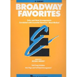 Broadway Favorites : for clarinet