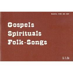 Gospels, Spirituals, Folk-Songs 3. und 1. Stimme in Es
