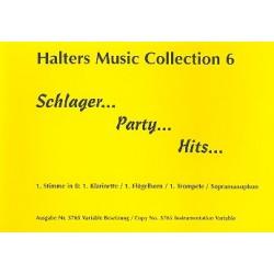 Schlager Party Hits : f├╝r Blasorchester 1.Stimme in B (Klar1/Flh1/Trp1/S-Sax)