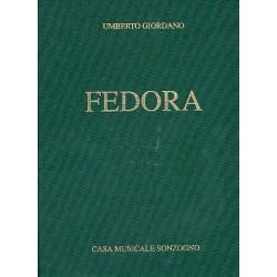 Giordano, Umberto: Fedora : Klavierauszug (it)