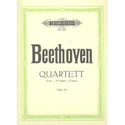 Beethoven, Ludwig van: Quartett Es-Dur op.16 : für Klavier und Streichtrio