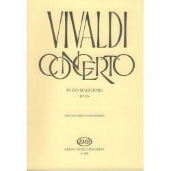 Vivaldi, Antonio: Konzert C-Dur RV534 : f├╝r 2 Oboen und Klavier