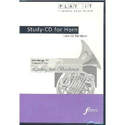 Beethoven, Ludwig van: Sonate F-Dur op.17 für Horn und Klavier : Playalong-CD