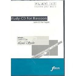 Spohr, Louis: Adagio F-Dur für Fagott und Klavier : Playalong-CD