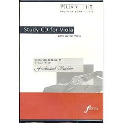 Küchler, Ferdinand: Concertino G-Dur für Viola und Klavier : Playalong-CD