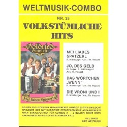 Weltmusik-Combo Nr.35 : Volkst├╝mliche Hits, 4 Stimmen