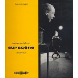 Kagel, Mauricio: Sur scene Textbuch