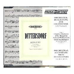 Ditters von Dittersdorf, Karl: Konzert E-Dur für Kontrabass und Orchester CD mit der Orchesterbegleitung zur Solostimme