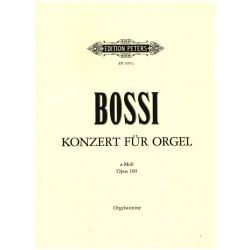 Bossi, Marco Enrico: KONZERT A-MOLL OP.100 : FUER ORGEL,STREICHORCHESTER,HOERNER PAUKEN, ORGELSTIMME
