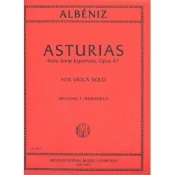 Albéniz, Isaac Manuel: Asturias op.47 : for viola