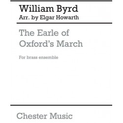 Byrd, William: Earle of Oxford's March : for 4 trumpets, 4 horns, trombone and tuba