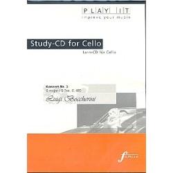 Boccherini, Luigi: Konzert G-Dur Nr.3 G480 : Lern-CD für Violoncello mit der Klavierbegleitung in 3 Tempi