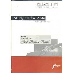 Bréval, Jean Baptiste: Sonate C-Dur für Viola und Klavier : Playalong-CD