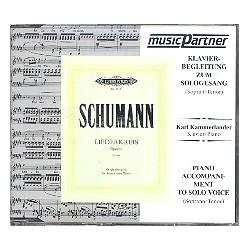 Schumann, Robert: Liederkreis : CD für Sopran / Tenor mit Klavier