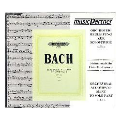 Bach, Johann Sebastian: Brandenburgisches Konzert Nr.5 BWV1050 : CD mit der Begleitung zur Solostimme