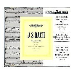 Bach, Johann Sebastian: Konzert d-Moll : CD Begleitung zur Solostimme