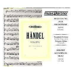 Händel, Georg Friedrich: 3 Sonaten : CD Begleitung zur Solostimme
