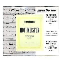 Hoffmeister, Franz Anton: Konzert D-Dur für Viola und Orchester : CD mit der Begleitung zur Solostimme