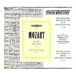 Mozart, Wolfgang Amadeus: Berühmte Opernarien für Bass : Playalong-CD mit Orchesterbegleitung