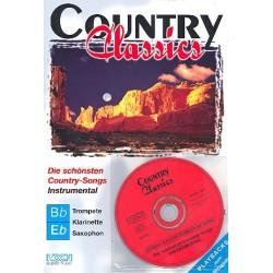 Country Classics (+CD) : für C-, B- und Es-Instrumente B- und Es-Stimmen